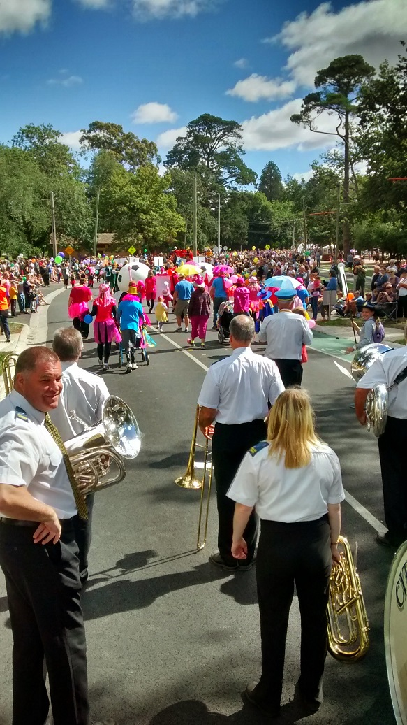 Begonia Festival Parade  - March 2015